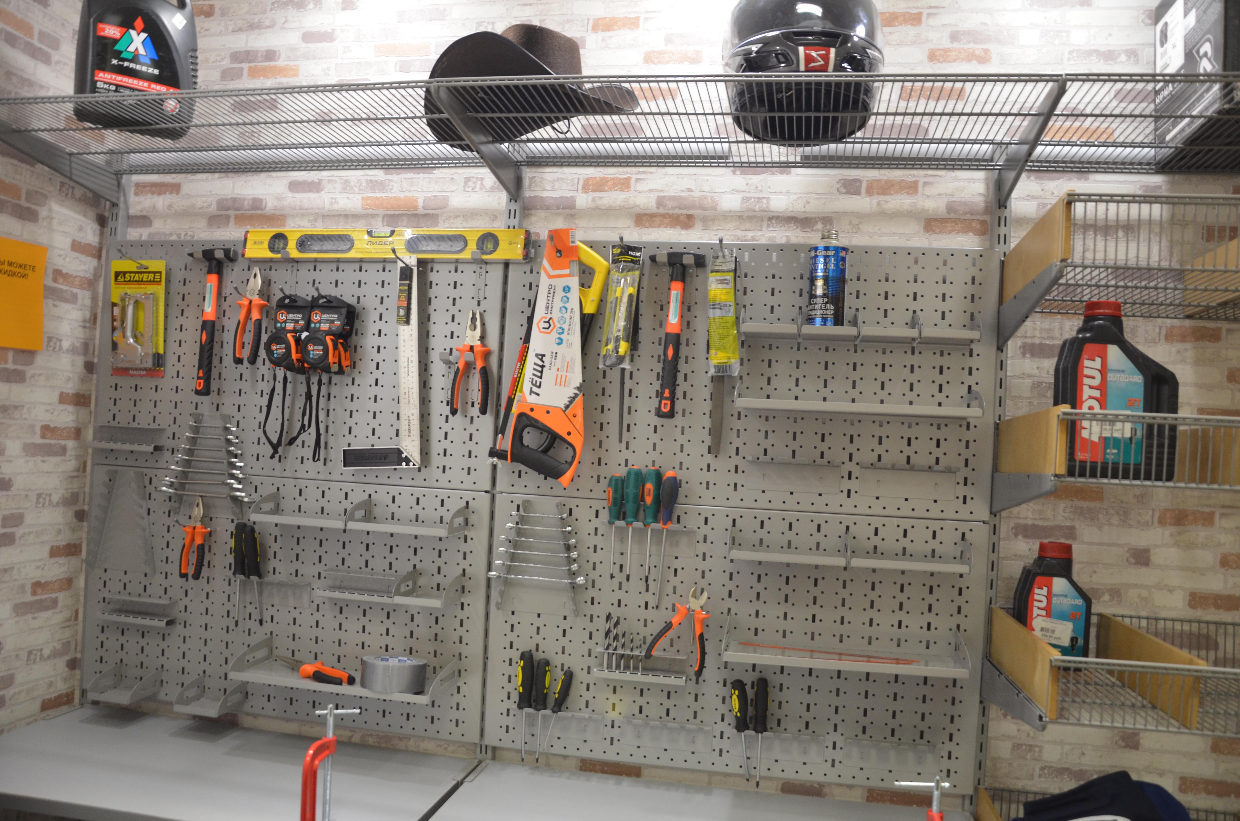 Как сделать стенд для инструмента в гараже фото